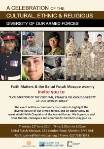 Celebration of the Cultural, Ethnic and Religious Diversity of Our Armed Forces