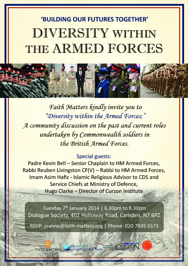 Invitation to diversity within the armed forces