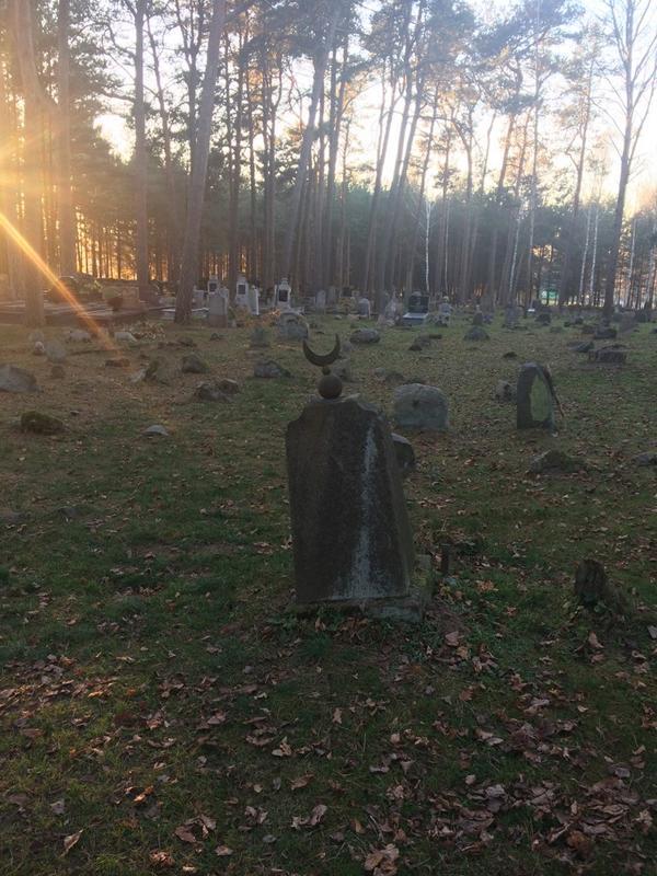 Tatar Muslim Graveyard, Kruzyniany, Poland