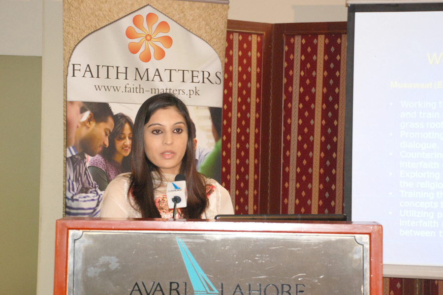 Faith Matters Pakistan, Interfaith session in Lahore