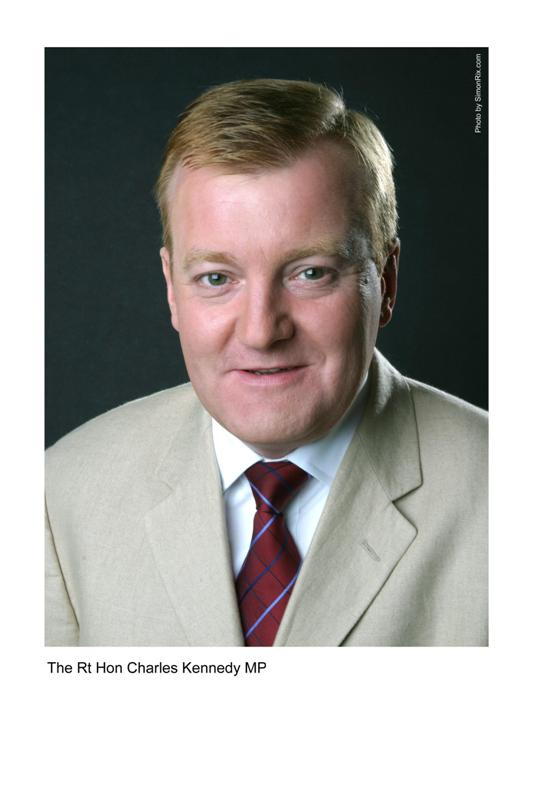RT Hon Charles Kennedy MP